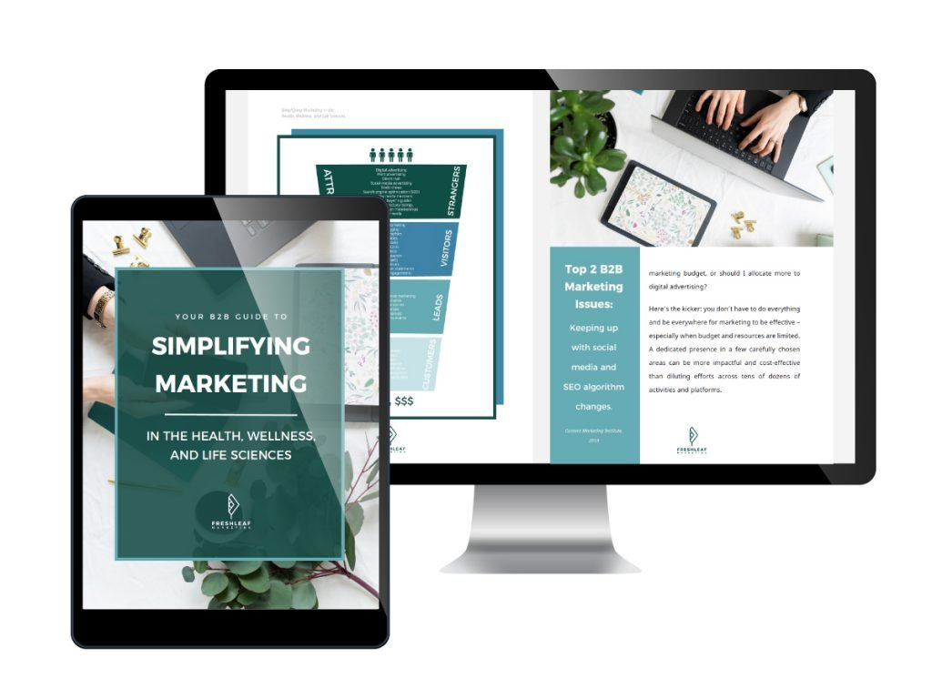 FreshLeaf Marketing Guide: Simplifying Marketing in Health Life Sciences