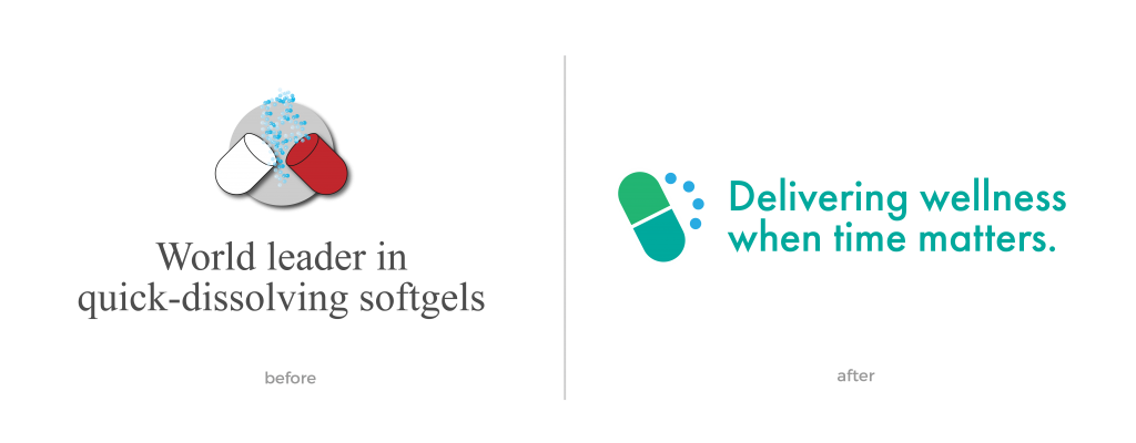 Rebrand in life sciences & health sciences