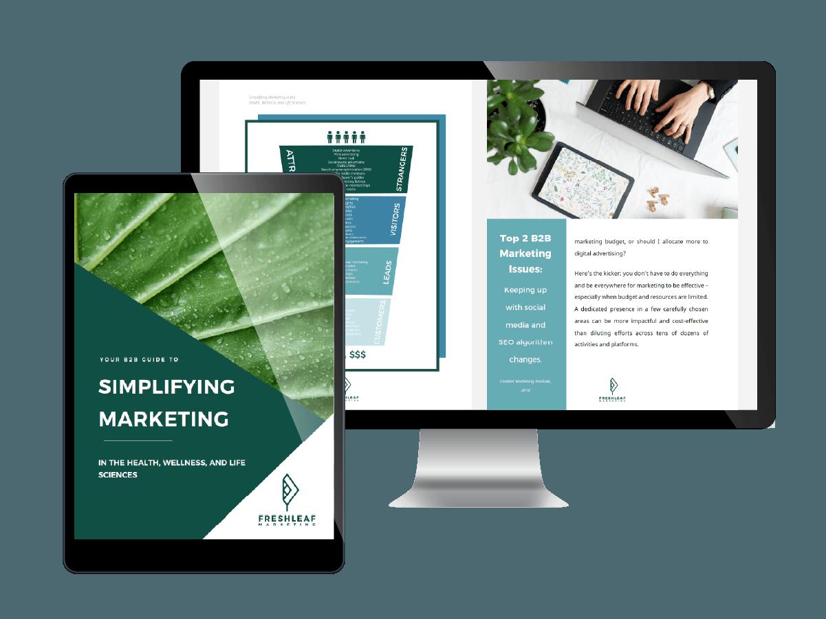 Health Science Marketing Guide - FreshLeaf Marketing